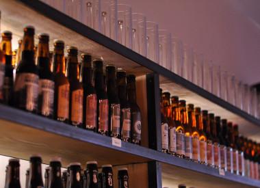 Rayon bières artisanales de la région Rhônes Alpes